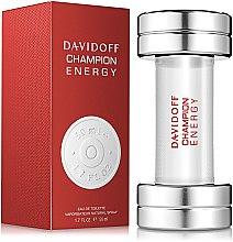Davidoff Champion Energy - Apă de toaletă — Imagine N2