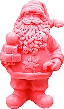 """Parfumuri și produse cosmetice Săpun natural """"Sfântul Nicolae cu cadouri"""" roșu, aromă de cireș - LaQ Happy Soaps Natural Soap"""