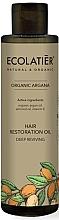 """Parfumuri și produse cosmetice Ulei de păr """"Recuperare profundă"""" - Ecolatier Organic Argana Hair Restoration Oil"""