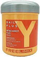 Parfumuri și produse cosmetice Mască cu beta-caroten pentru păr - Freelimix Daily Plus Betacarot Plus Mask