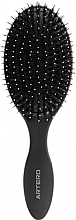 Parfumuri și produse cosmetice Pieptene de păr, oval - Oval Graphite Artero Black