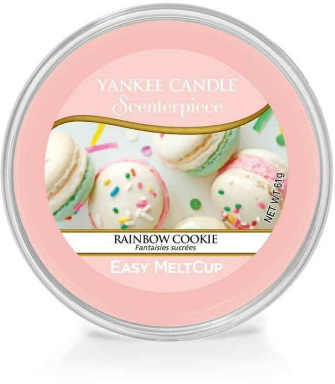 Ceară aromatică - Yankee Candle Rainbow Cookie Scenterpiece Melt Cup — Imagine N1