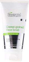 Parfumuri și produse cosmetice Scrub pentru pielea grasă a feței - Bielenda Professional Face Program Coarse-Grained Face Peeling