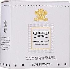 Parfumuri și produse cosmetice Creed Love In White Perfumed Soap - Săpun parfumat