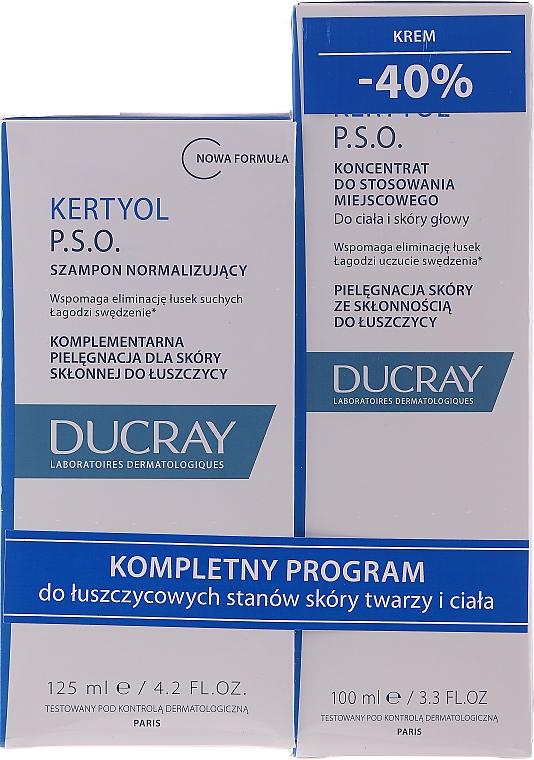Set - Ducray Kertyol P.S.O. (shm/100ml + concentrate/125ml) — Imagine N1