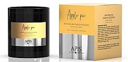 Parfumuri și produse cosmetice Lumânare naturală de soia - APIS Professional Apple Pie Candle