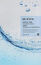 """Parfumuri și produse cosmetice Mască de țesut """"Aqua"""" pentru față - Mizon Joyful Time Essence Mask"""