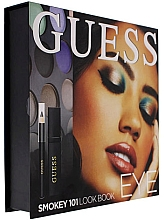 Parfumuri și produse cosmetice Set - Guess Beauty Smokey 101 Eye Lookbook (mascara/4ml + eyeliner/0.5g + 12xeye/sh/1.96g)
