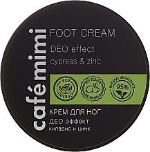 Cremă pentru picioare - Cafe Mimi Foot Cream Deo Effect — Imagine N1