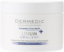 Parfumuri și produse cosmetice Mască hidratantă pentru corp - Dermedic Linum Emolient Ultra Rich Body Cream
