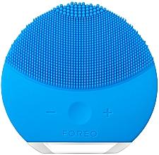 Parfumuri și produse cosmetice Perie de curățare și masaj spa, cu funcție de control al intensității - Foreo Luna Mini 2 Aquamarine