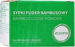 Parfumuri și produse cosmetice Pudră de Bambus matifiantă pentru față - Ecocera Bamboo Face Powder