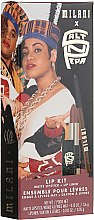 Parfumuri și produse cosmetice Set - Milani Salt-N-Pepa Shoop Lip Kit (lipstick/3.6/g + lip/liner/0.35/g)