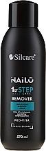 Parfumuri și produse cosmetice Soluție incoloră pentru îndepărtarea ojei - Silcare Nailo Pro-Vita