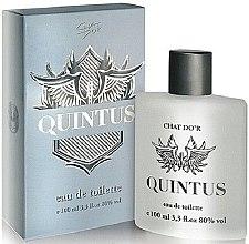 Parfumuri și produse cosmetice Chat D'or Quintus - Apă de toaletă