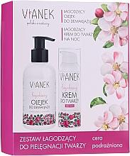 Parfumuri și produse cosmetice Set - Vianek (oil/150 ml + night/cream/50ml + mask/10ml)