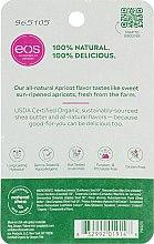 Balsam cu aromă de caise pentru buze - Eos 100% Natural Organic Apricot Lip Balm — Imagine N2