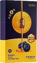 Parfumuri și produse cosmetice Mască cu afine și miere pentru față - Frudia Blueberry Honey Overnight Mask