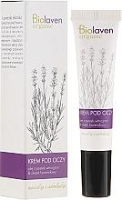 Parfumuri și produse cosmetice Cremă pentru zona din jurul ochilor - Biolaven Eye Cream