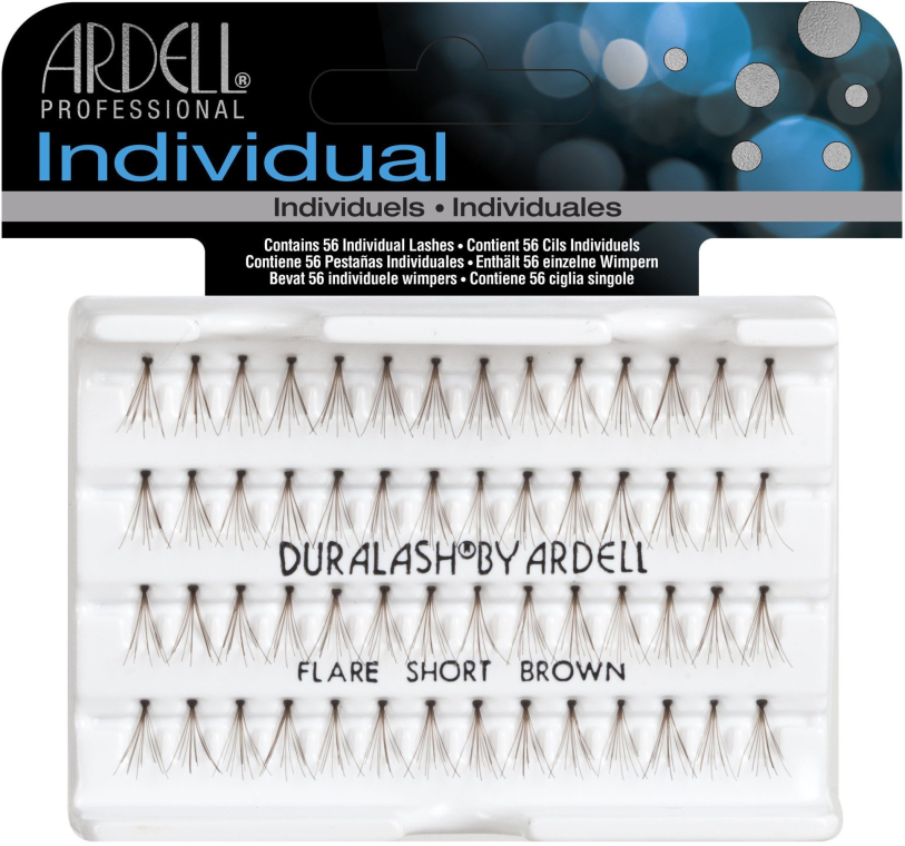 Set de gene individuale - Ardell Duralash Naturals Short Brown Eye Lashes — Imagine N1