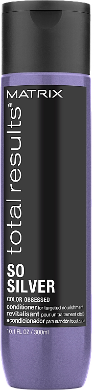 Balsam pentru păr vopsit - Matrix Total Results Color Obsessed So Silver Conditioner — Imagine N1