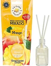 """Parfumuri și produse cosmetice Difuzor de aromă """"Mango"""" - La Casa de Los Aromas Mikado Reed Diffuser"""