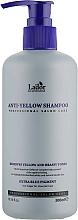Parfumuri și produse cosmetice Șampon cu efect anti-galben - La'Dor Anti Yellow Shampoo