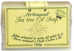 Parfumuri și produse cosmetice Săpun natural cu ulei de arbore de ceai - Arganour Natural Soap with Tea Tree Oil