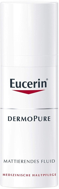 Fluid pentru față - Eucerin Dermo Pure Mattierendes Fluid — Imagine N1