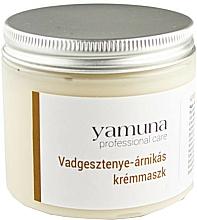 Parfumuri și produse cosmetice Cremă-mască cu aesculus și arnică pentru față - Yamuna Horse Chestnut & Arnica Cream Mask