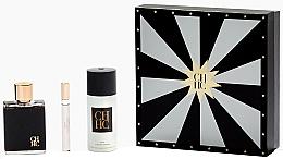 Parfumuri și produse cosmetice Carolina Herrera CH Men - Set (edt/100ml + edt/10ml + deo/150ml)