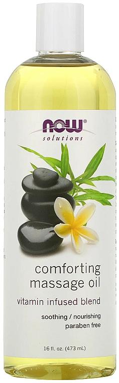 Ulei calmant pentru masaj - Now Foods Solutions Comforting Massage Oil — Imagine N1