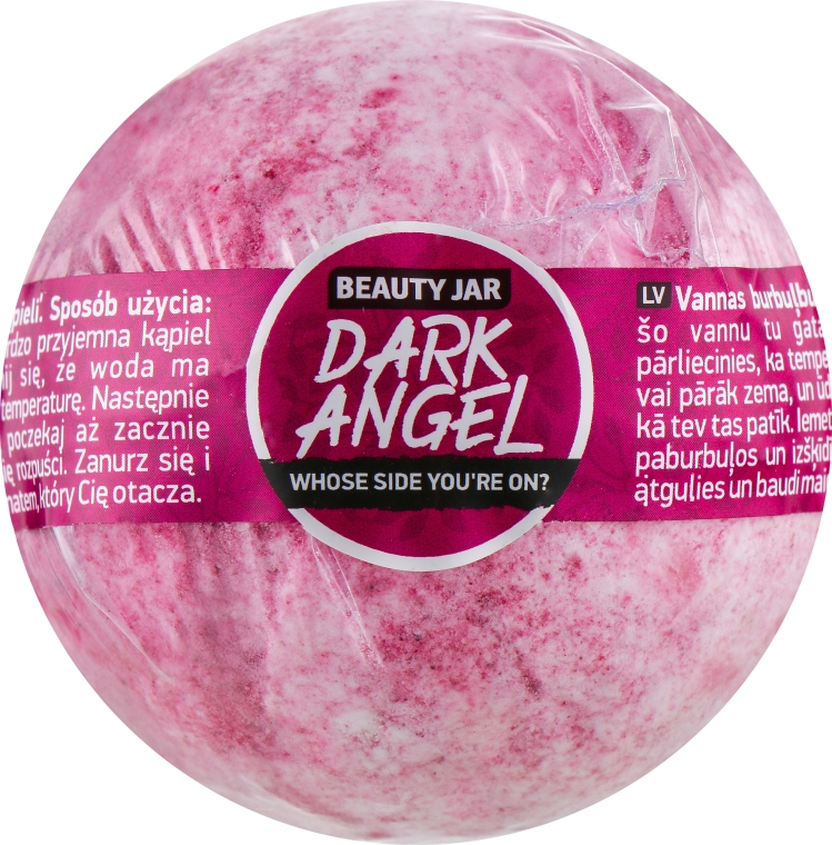 """Bilă efervescentă pentru baie """"Înger"""" - Beauty Jar Dark Angel"""