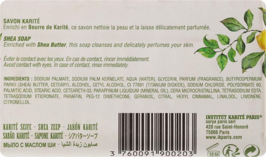 Săpun - Institut Karite Lemon Verbena Shea Soap — Imagine N4