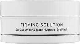 Parfumuri și produse cosmetice Hidrogel Patch pentru ochi cu extract de castravete de mare și pulbere de perle negre, dimensiune standard - BeauuGreen Sea Cucumber & Black Hydrogel Eye Patch