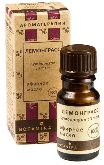 "Ulei esențial ""Lemongrass"" - Botanika Lemongrass Essential Oil — Imagine N1"