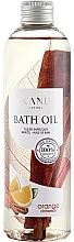 """Parfumuri și produse cosmetice Ulei de baie """"Portocală cu scorțișoară"""" - Kanu Nature Bath Oil Orange Cinnamon"""
