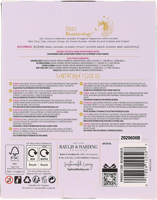 Set - Baylis & Harding Beauticology Bath Sprinkles (salt/for/bath/5x65g) — Imagine N2