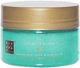Parfumuri și produse cosmetice Scrub de corp - Rituals The Ritual of Karma Body Scrub