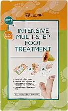 Parfumuri și produse cosmetice Scrub pentru picioare - Celkin Intensive Multi-Step Foot Treatment
