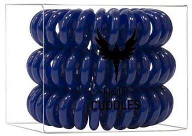 Elastice de păr, albastru închis - HH Simonsen Hair Cuddles Dark Blue