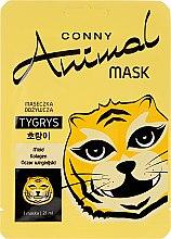 """Parfumuri și produse cosmetice Mască nutritivă pentru față """"Tigru"""" - Conny Animal Mask Tygrys"""