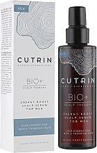 Parfumuri și produse cosmetice Ser pentru scalp, pentru bărbați - Cutrin Bio+ Energy Boost Scalp Serum For Men