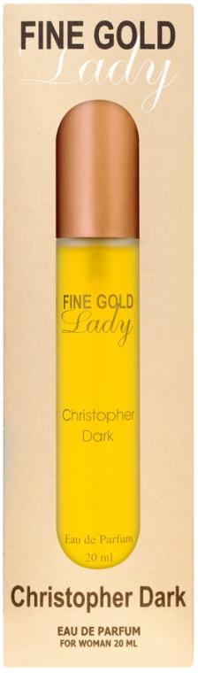 Christopher Dark Fine Gold Lady - Apă de parfum (mini)