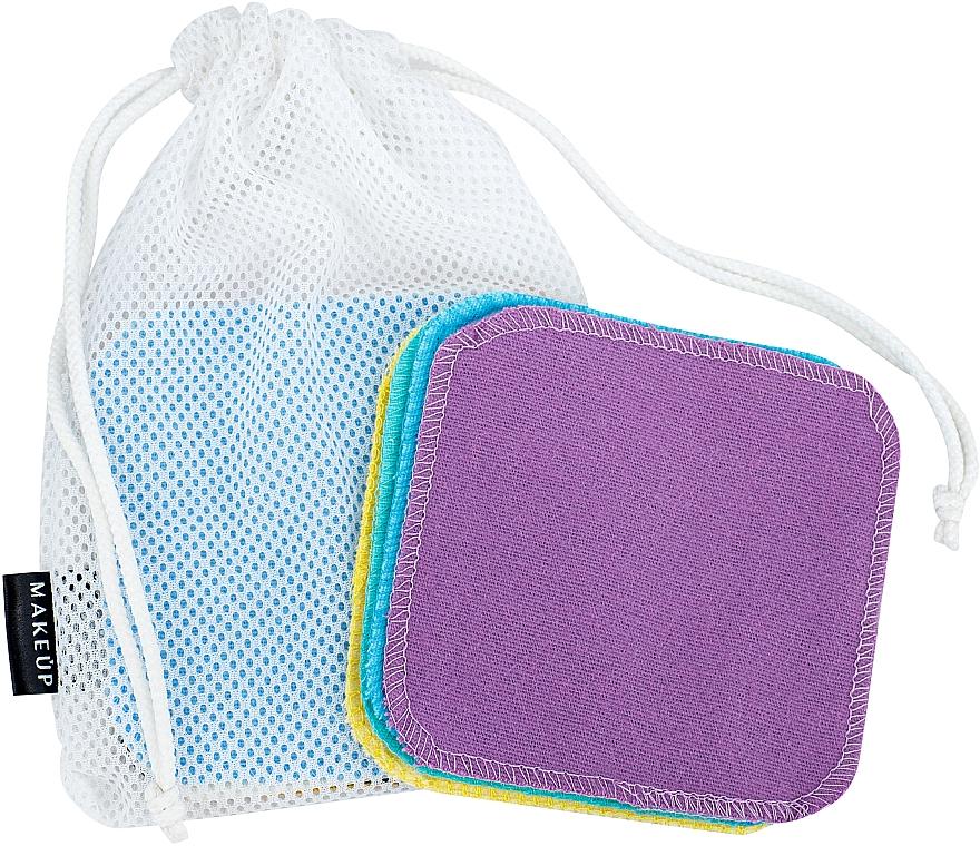 """Lavete reutilizabile pentru curățarea feței """"ToFace"""" - Makeup Remover Sponge Set Multicolour & Reusable"""