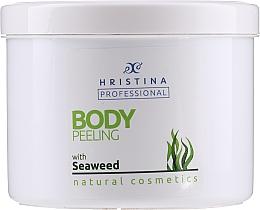 "Parfumuri și produse cosmetice Scrub pentru corp ""Alge"" - Hristina Professional Seaweed Body Peeling"