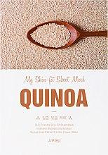 Parfumuri și produse cosmetice Mască de față cu extract de quinoa - A'Pieu My Skin-Fit Sheet Mask Quinoa
