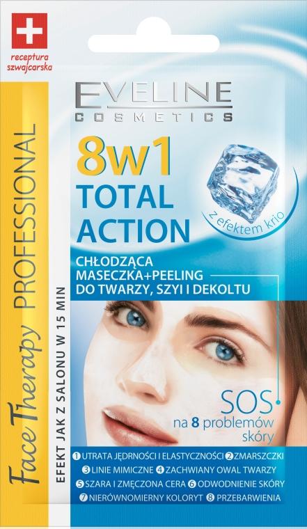 Mască revigorantă pentru față + peeling - Eveline Cosmetics Therapy