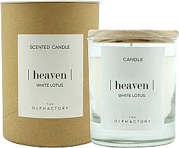 """Parfumuri și produse cosmetice Lumânare parfumată """"Lotus alb"""" - Ambientair The Olphactory Heaven White Lotus"""