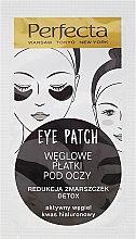 Parfumuri și produse cosmetice Patch-uri cu cărbune sub ochi - Dax Cosmetics Perfecta Eye Patch